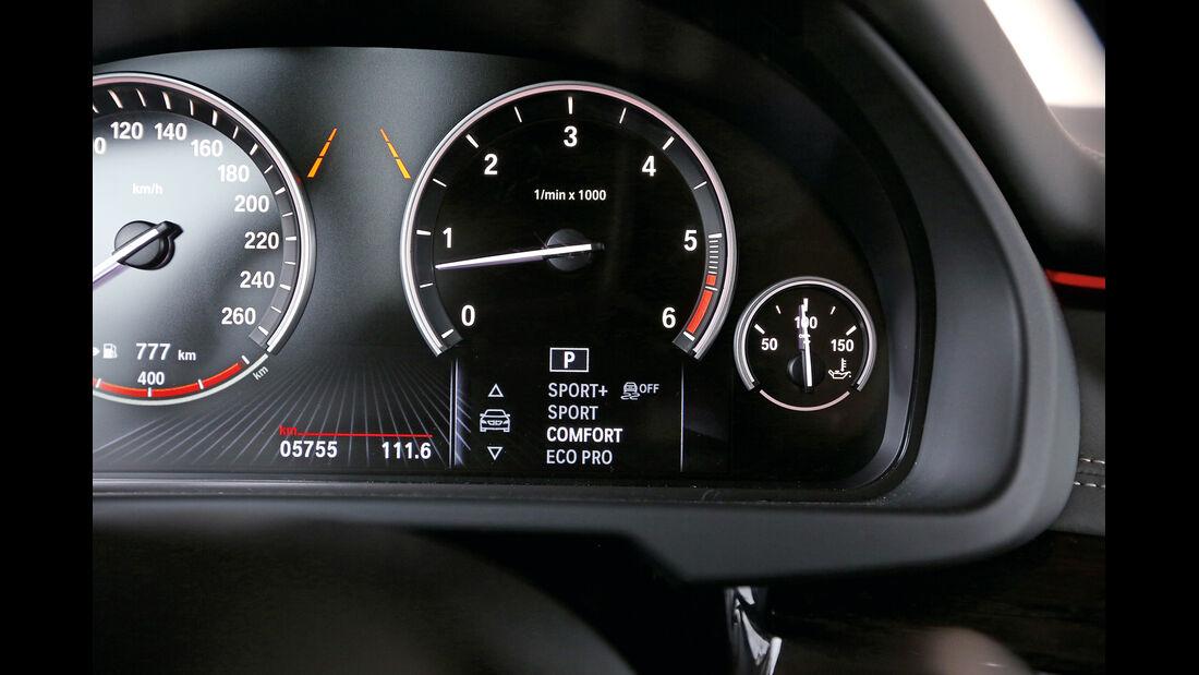 BMW X5 xDrive 30d, Rundinstrumente