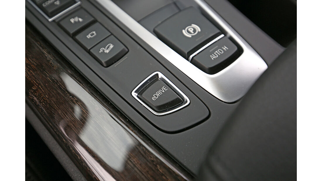 BMW X5 xDrive 40e, Bedienelemente