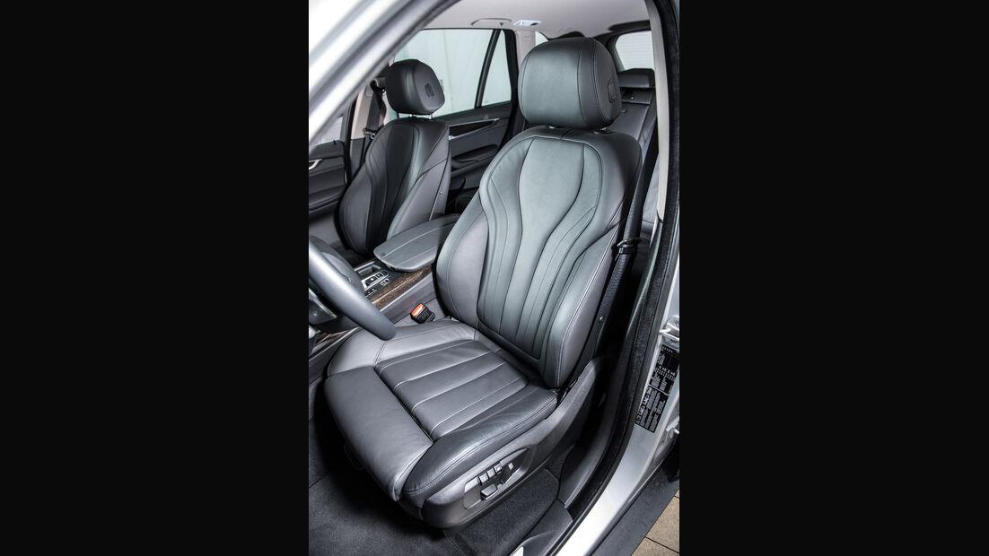 BMW X5 xDrive 40e, Fahrersitz
