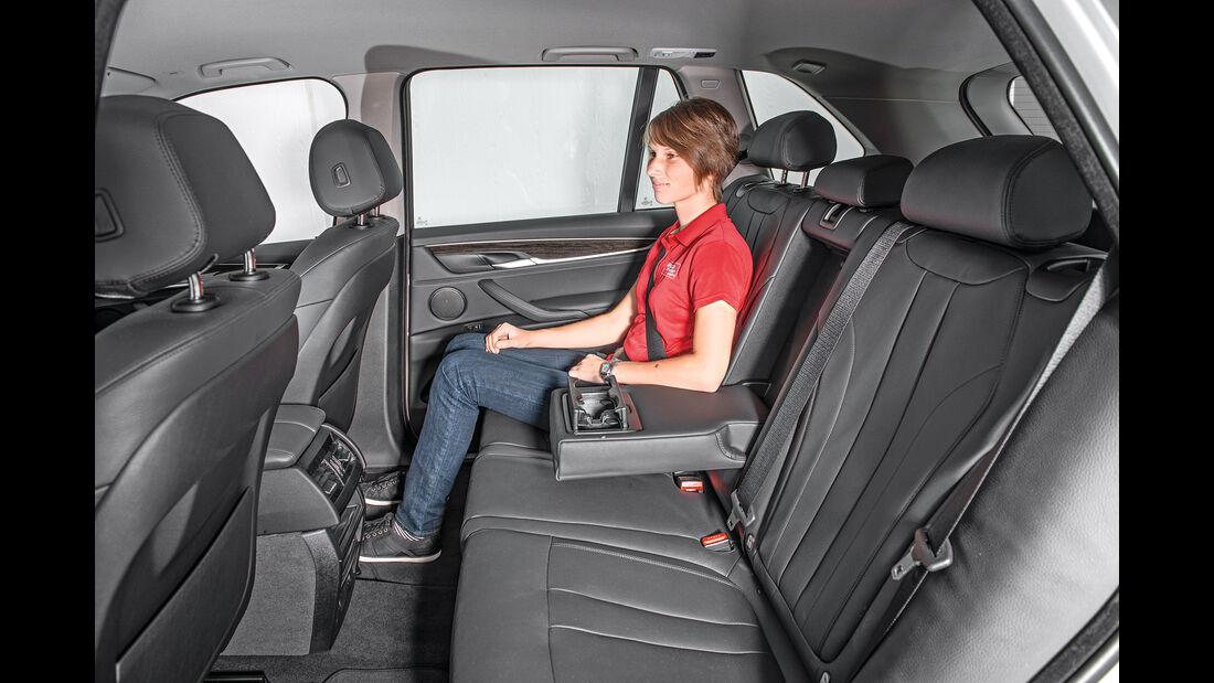 BMW X5 xDrive 40e, Fondsitz, Beinfreiheit