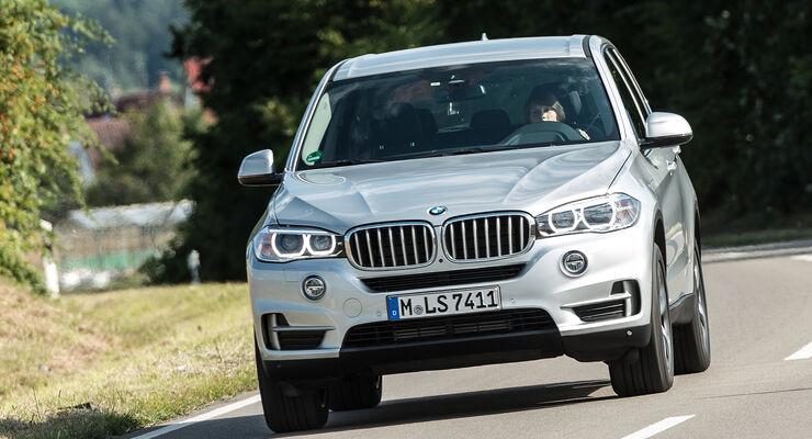 BMW X5 xDrive 40e, Frontansicht