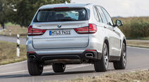 BMW X5 xDrive 40e, Heckansicht