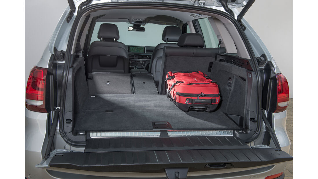 BMW X5 xDrive 40e, Kofferraum