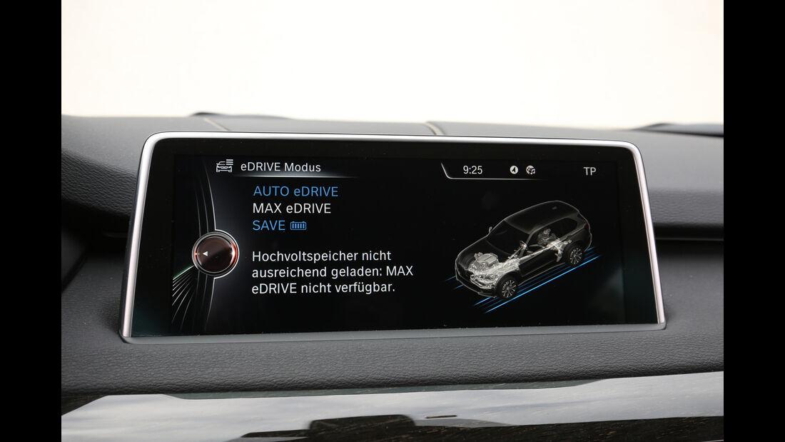 BMW X5 xDrive 40e, Monitor, Infotainment