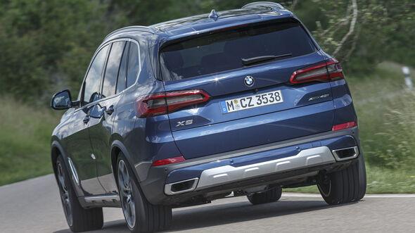 BMW X5 xDrive 40i, Exterieur