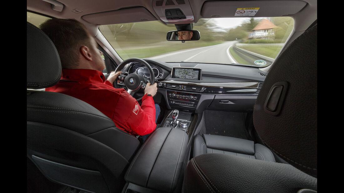 BMW X5 xDrive E35i, Interieur