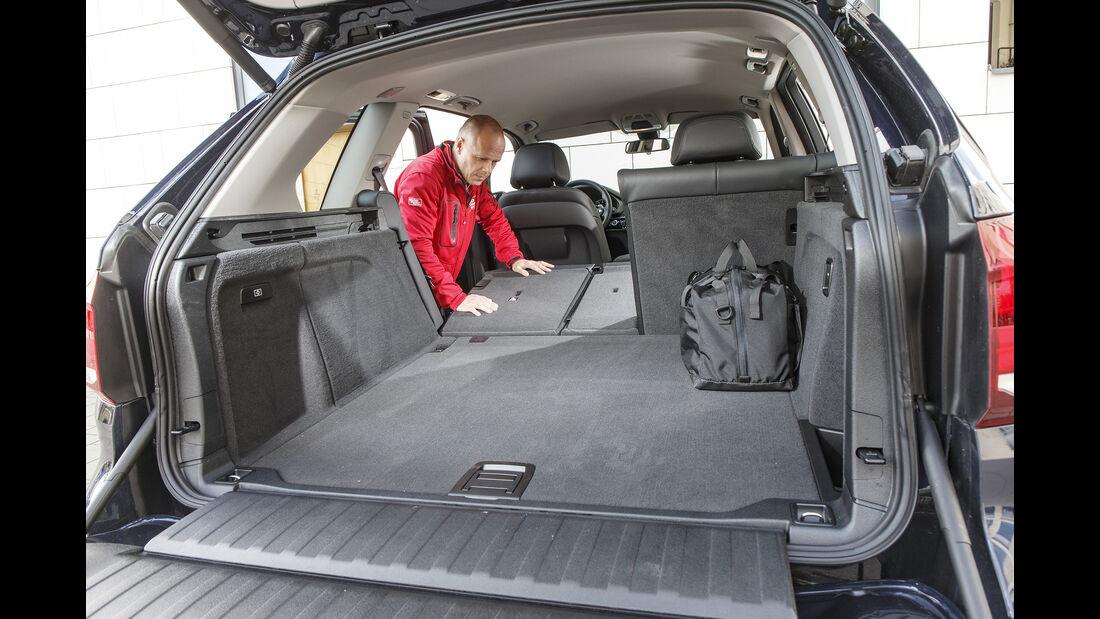 BMW X5 xDrive E35i, Kofferraum