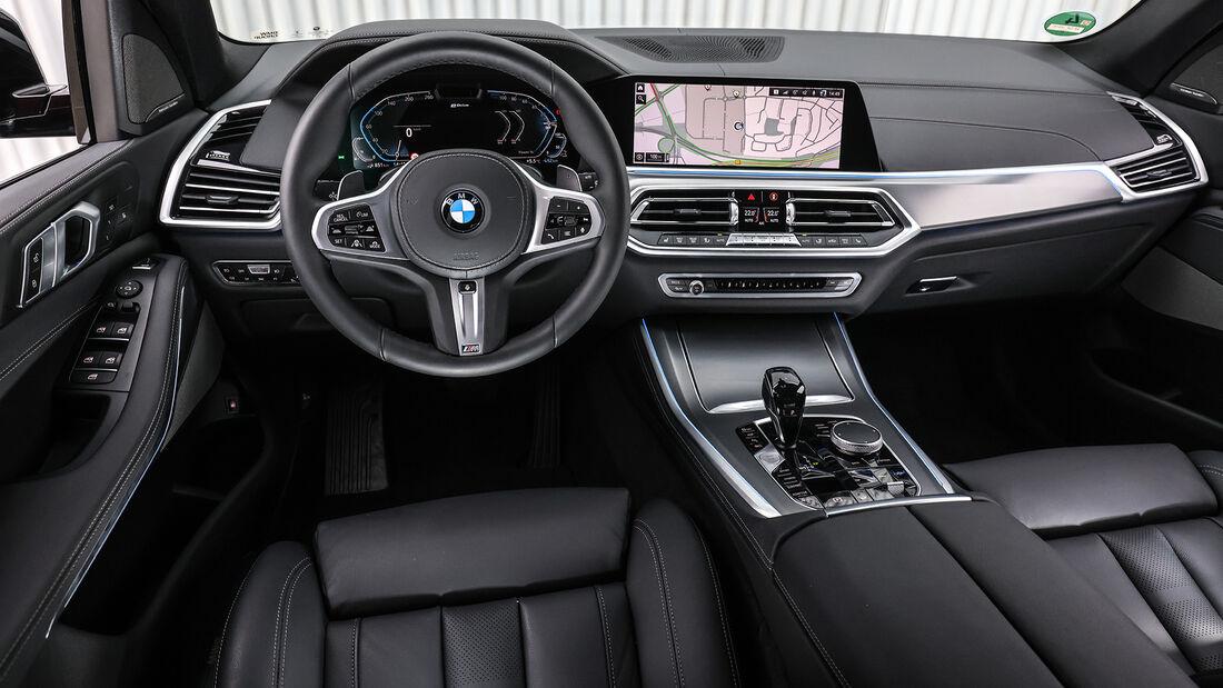 BMW X5 xDrive45e, Interieur