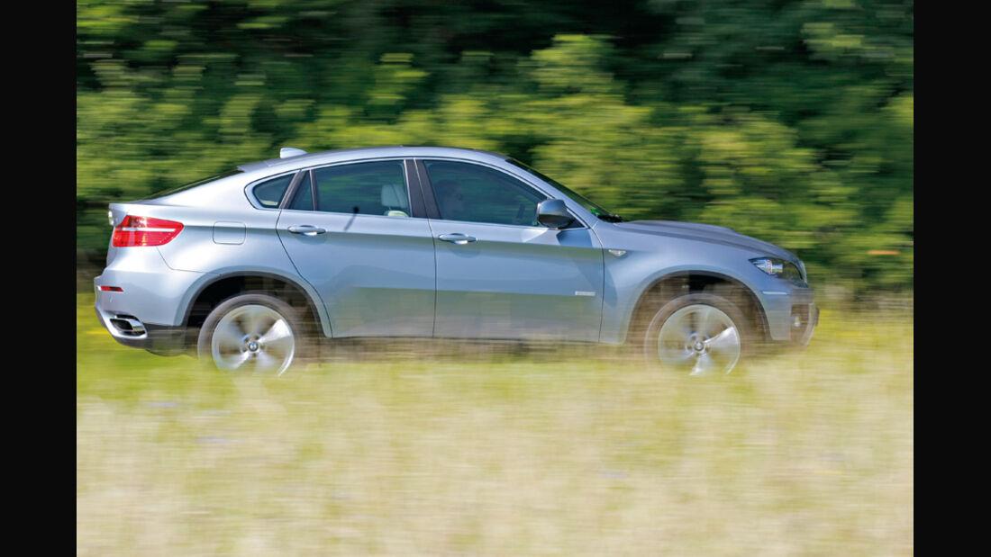BMW X6 Active Hybrid, Seitenansicht