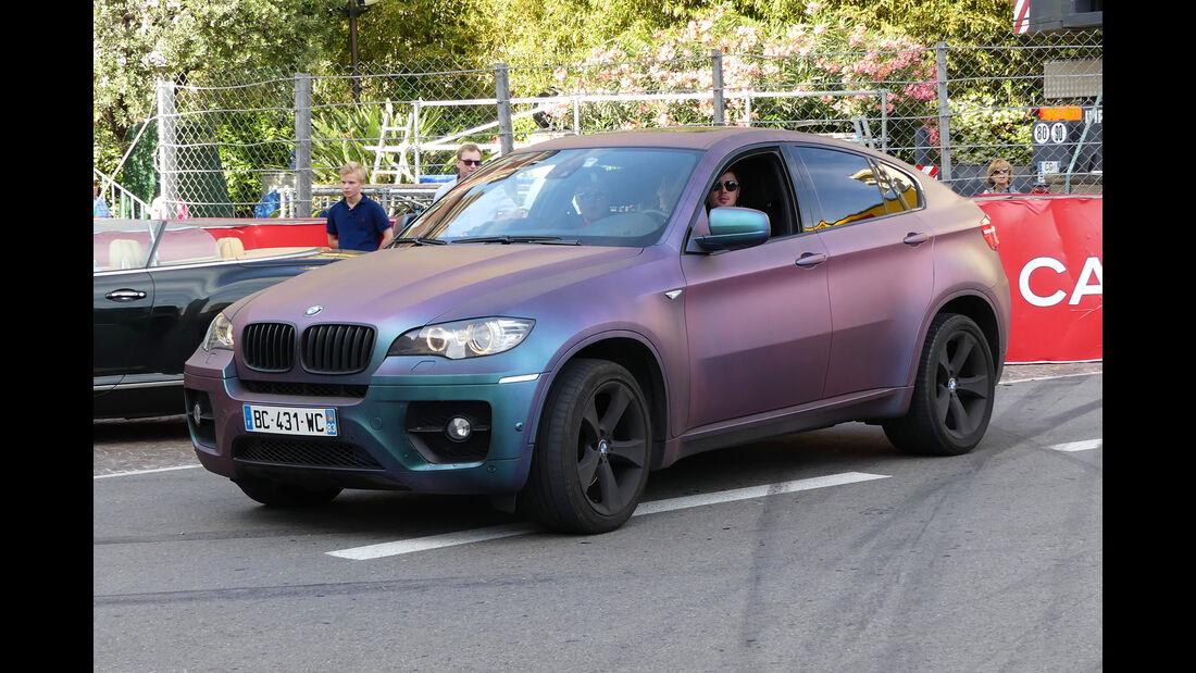 BMW X6 - Carspotting - GP Monaco 2016