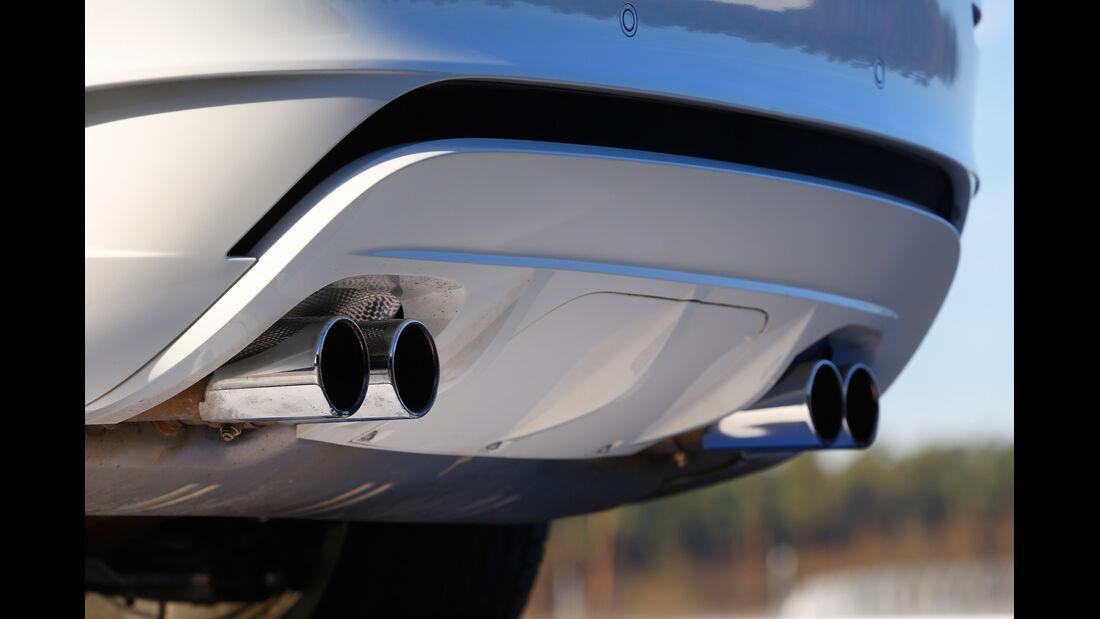 BMW X6 M, Auspuff Endrohr
