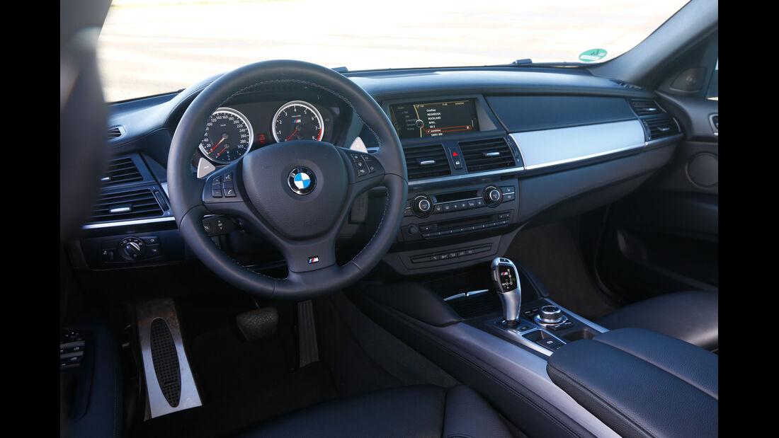 BMW X6 M, Cockpit