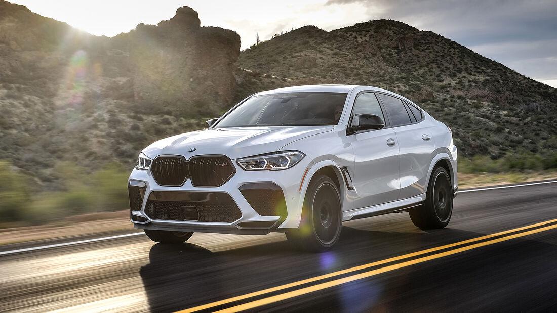 BMW X6 M Competition, Fahrbericht, ams0720