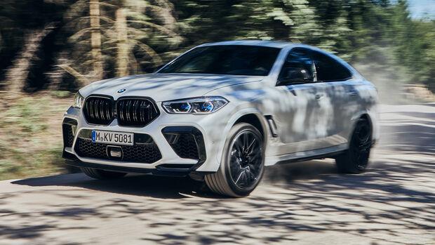 BMW X6 M, Exterieur