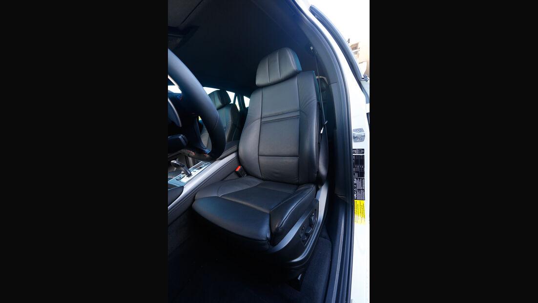 BMW X6 M, Fahrersitz
