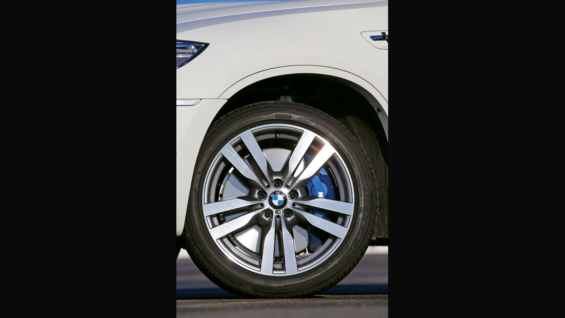 BMW X6 M, Rad, Felge, Bremse