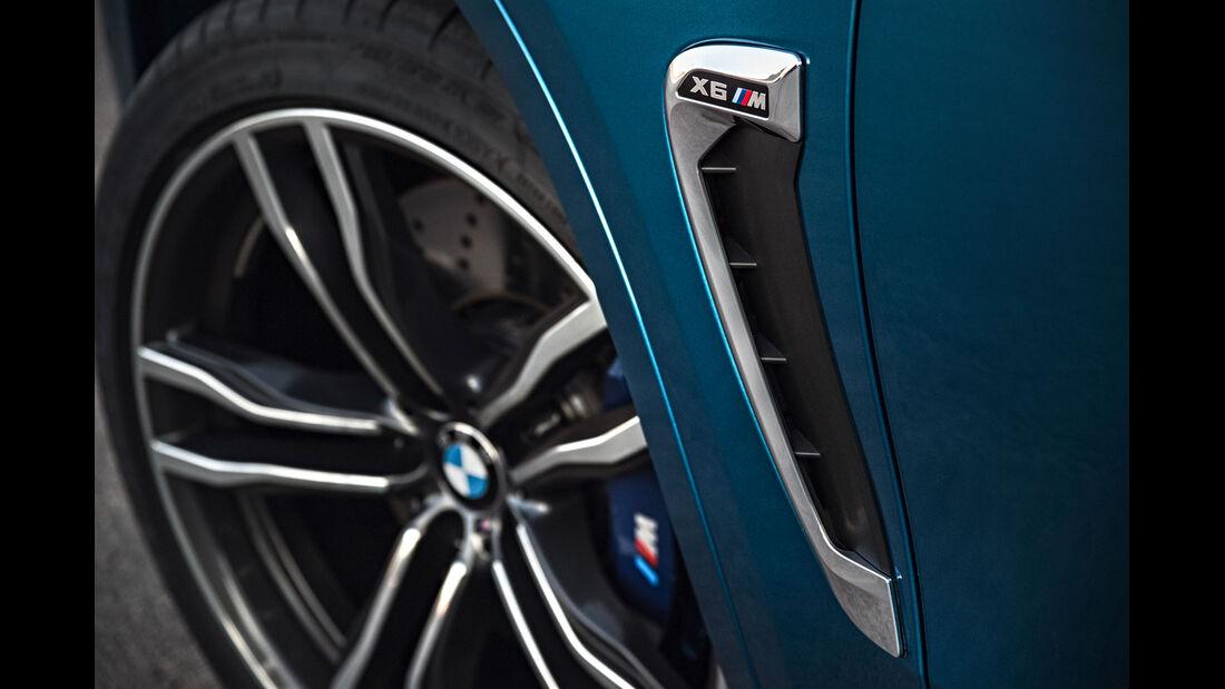 BMW X6 M - SUV - Luftauslass - Vorstellung - M GmbH - 10/2014