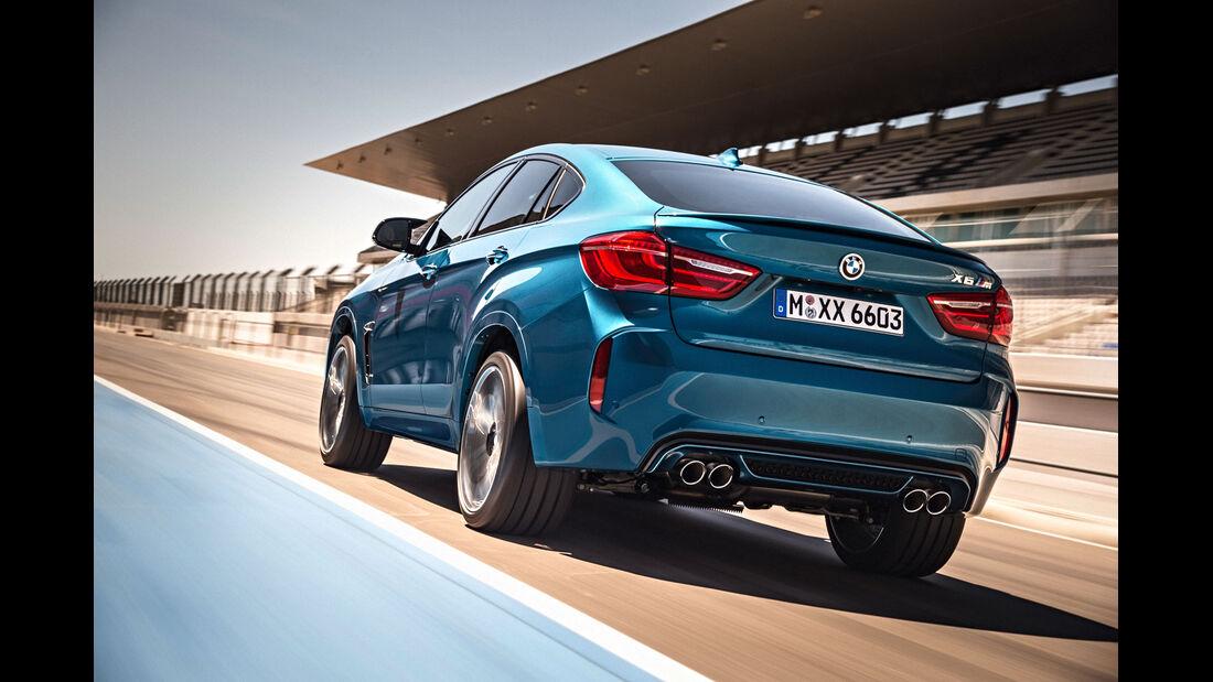 BMW X6 M - SUV - Rückleuchten - Vorstellung - M GmbH - 10/2014