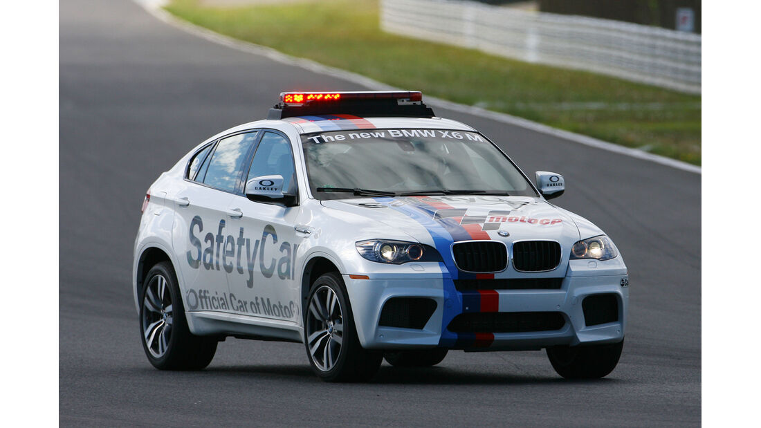 BMW X6 M Safety Car MotoGP 2011