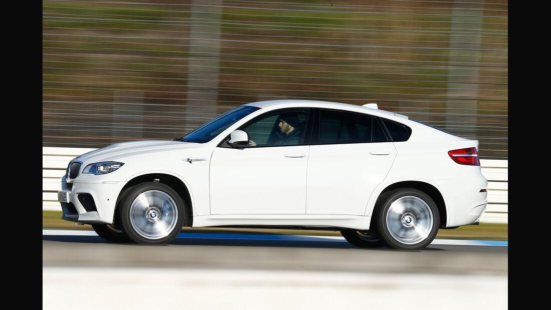BMW X6 M, Seitenansicht