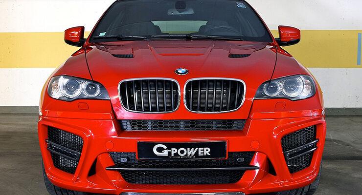BMW X6 M von G-Power, Front