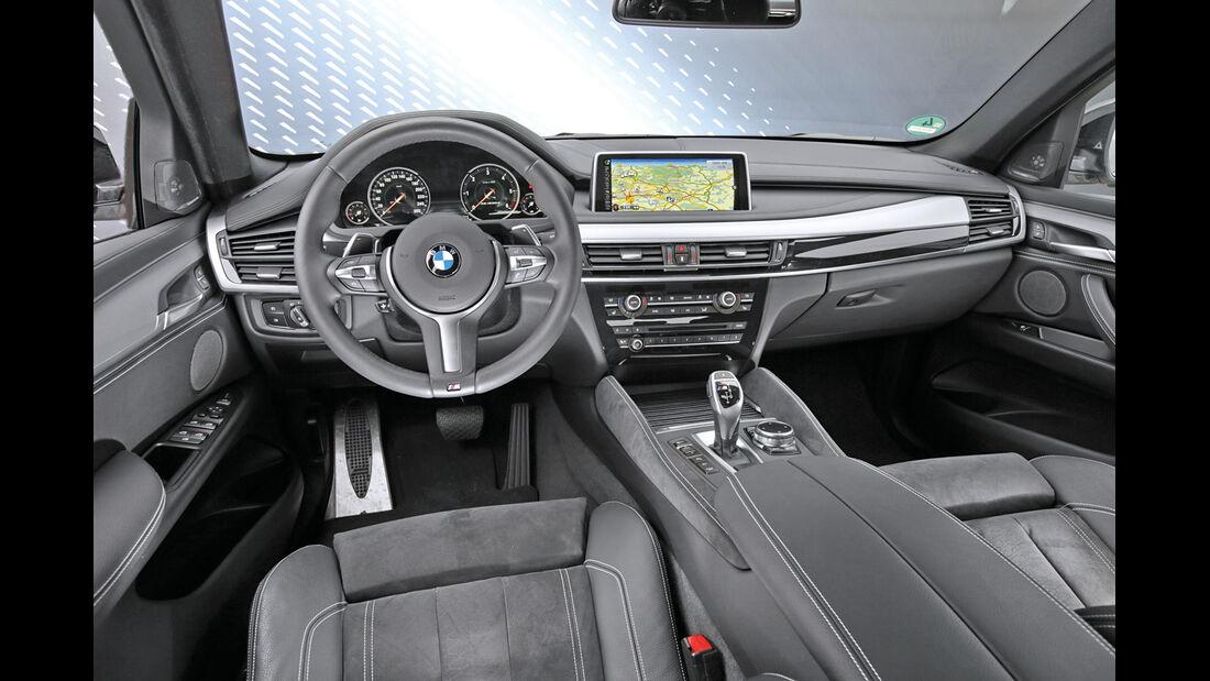 BMW X6 M50d, Cockpit