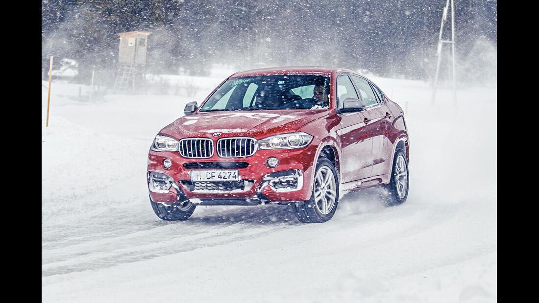 BMW X6 M50d, Frontansicht