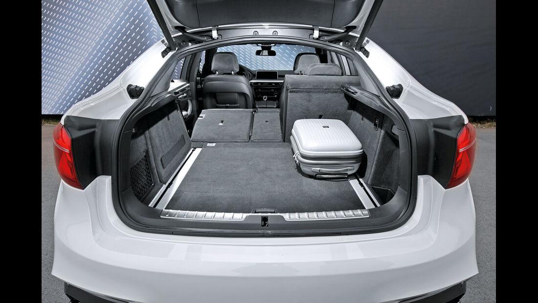 BMW X6 M50d, Kofferraum