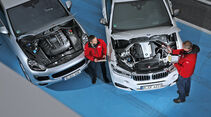 BMW X6 M50d, Porsche Cayenne S Diesel, Motor