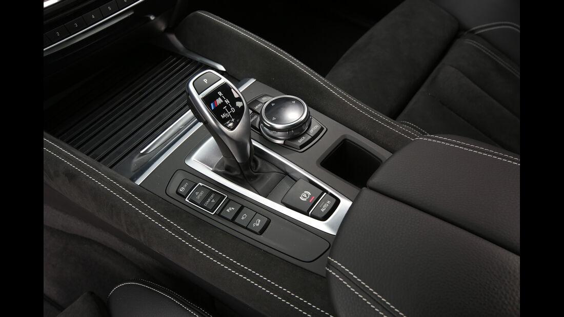 BMW X6 M50d, Schalthebel