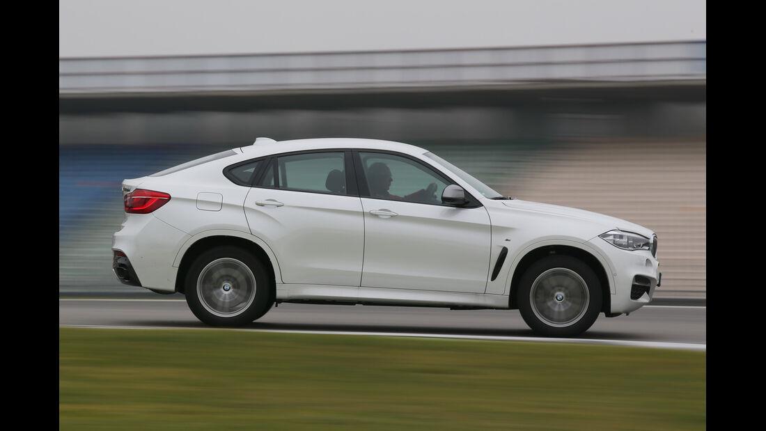 BMW X6 M50d, Seitenansicht