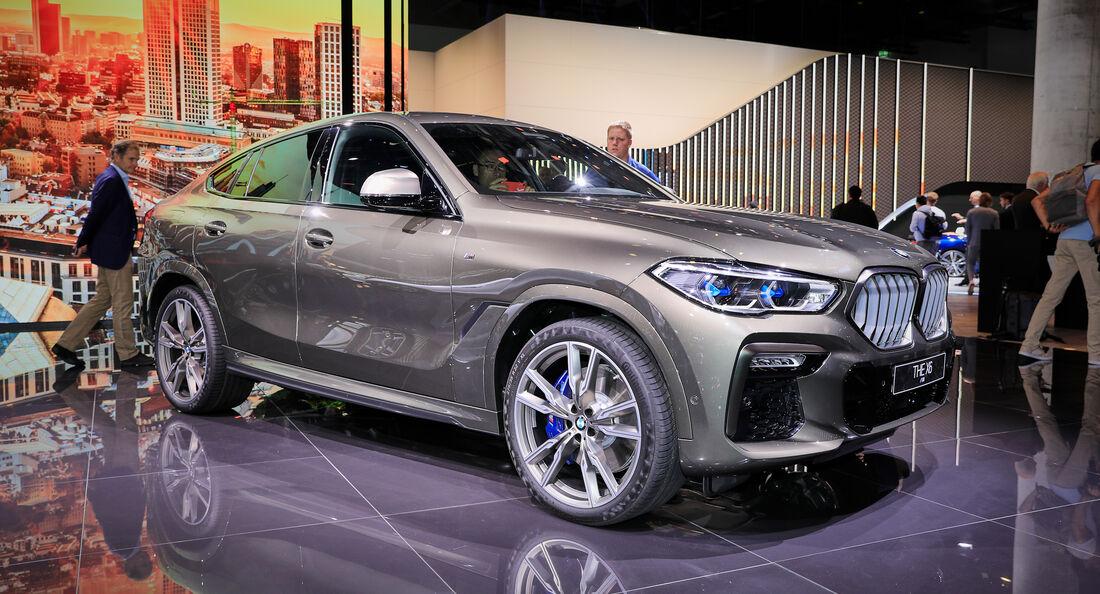 BMW X6 M50i, IAA 2019