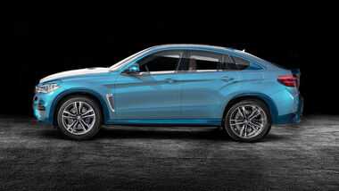 BMW X6 und Mercedes GLE Coupé Mix