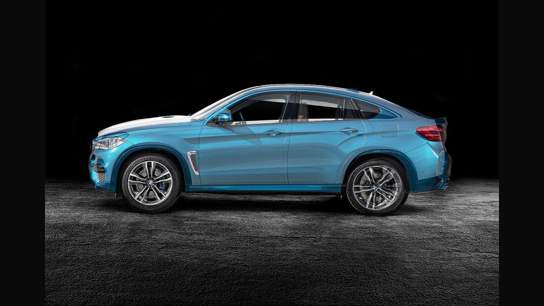 BMW X6 und Mercedes GLE Coupé Mix