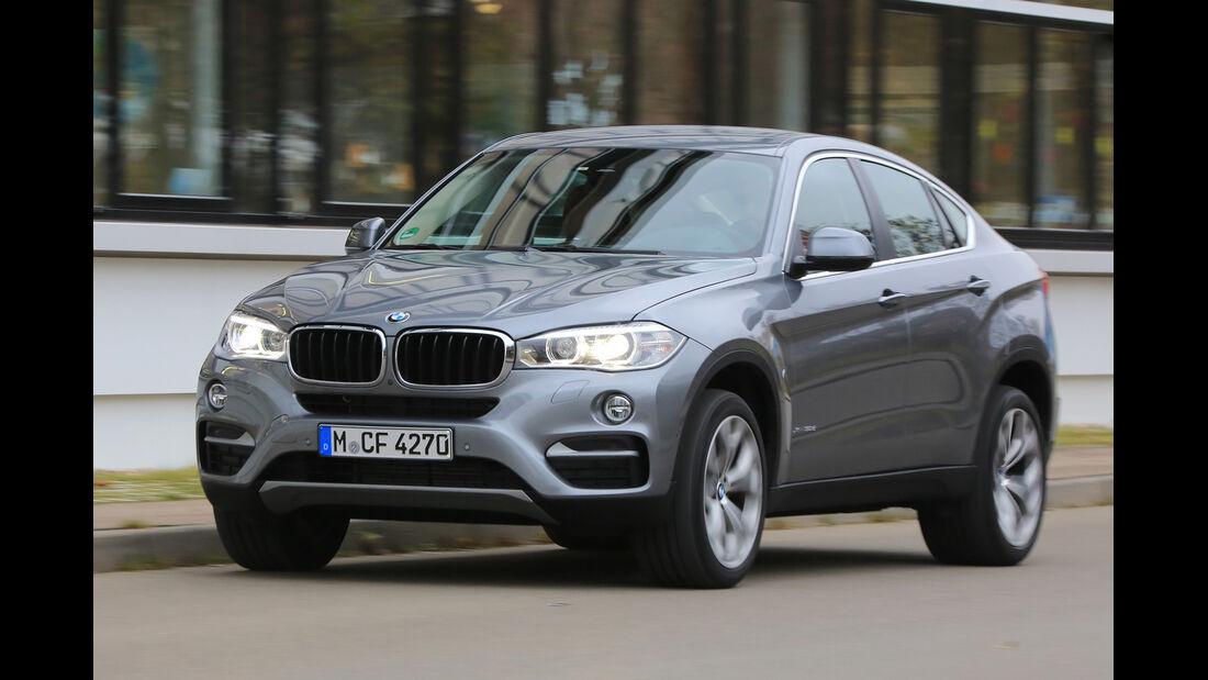BMW X6 xDrive 30d, Frontansicht