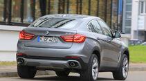 BMW X6 xDrive 30d, Heckansicht