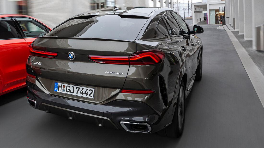 BMW X6 xDrive 40i Kosten Realverbrauch