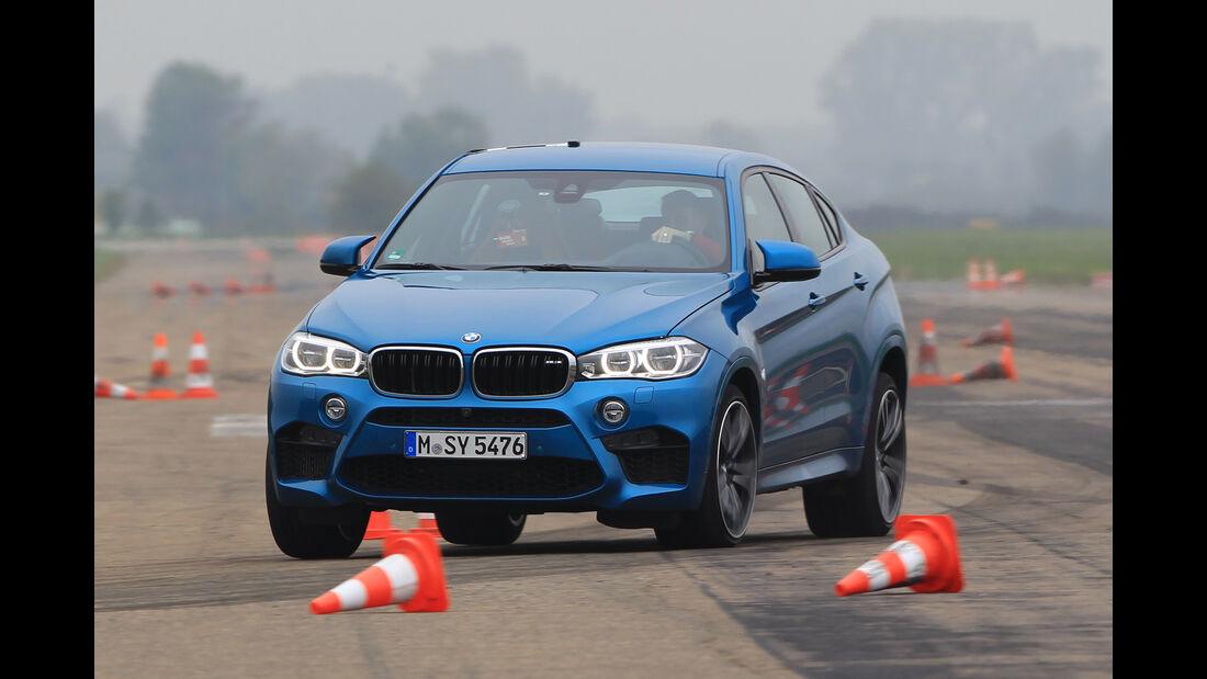 BMW X6M, Frontansicht