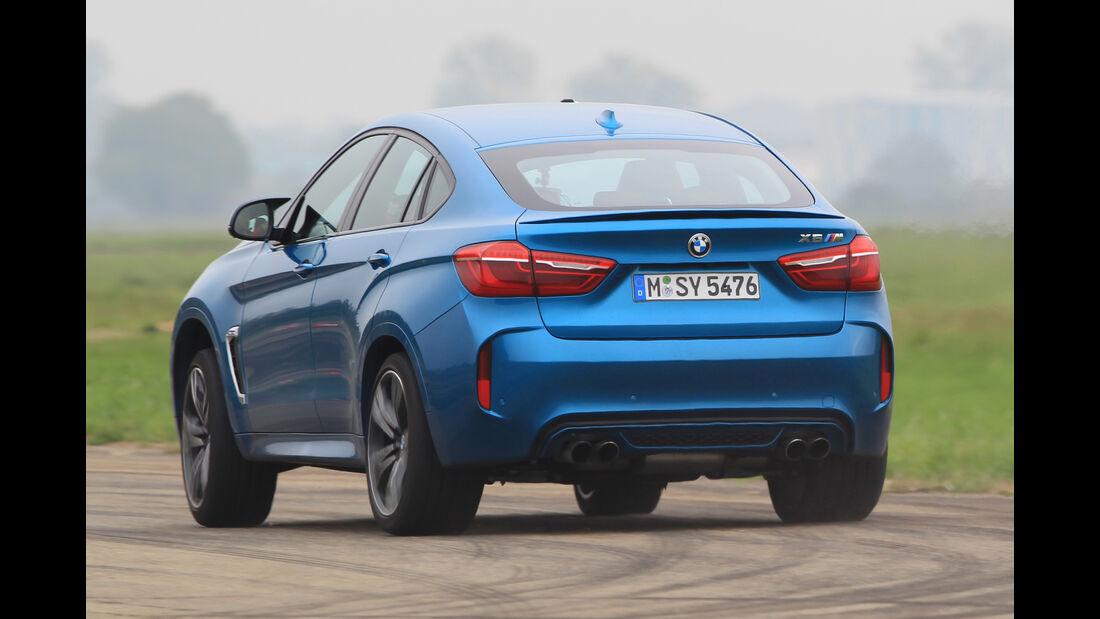 BMW X6M, Heckansicht