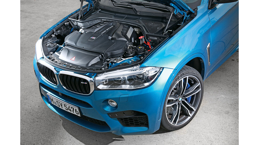 BMW X6M, Motor