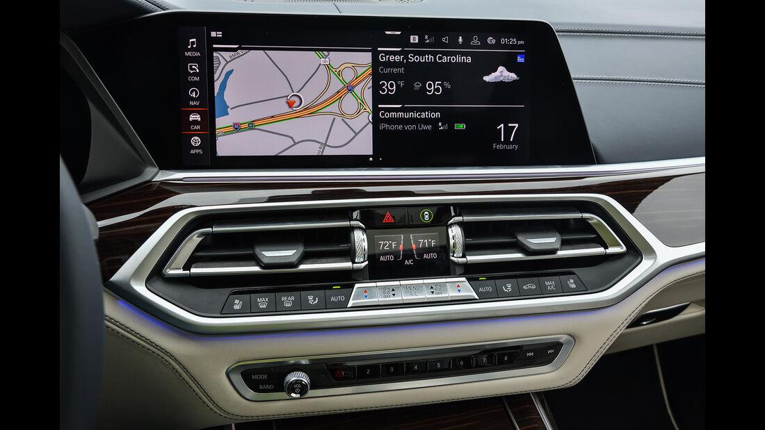 BMW X7 40i, Interieur
