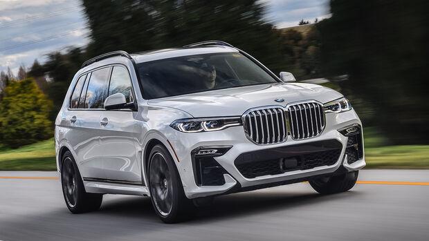 BMW X7 50i, Exterieur