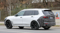 BMW X7 Erlkönig Facelift
