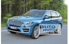 BMW X7, Frontansicht