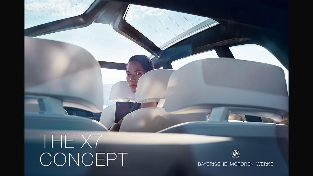 BMW X7 Luxus Neuer Markenauftritt IAA 2017