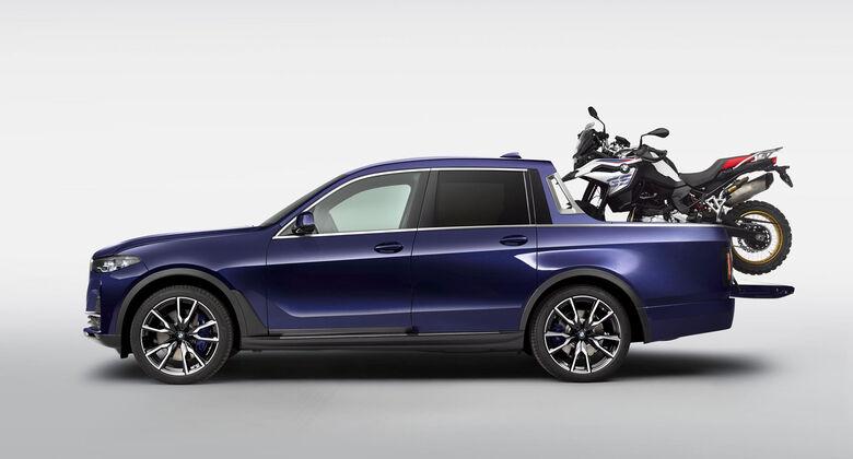 BMW X7 Pickup Studie