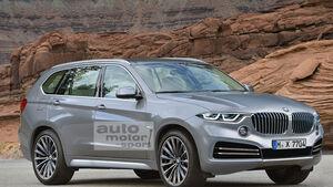 BMW X7 Retusche