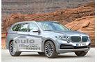 BMW X7, Seitenansicht