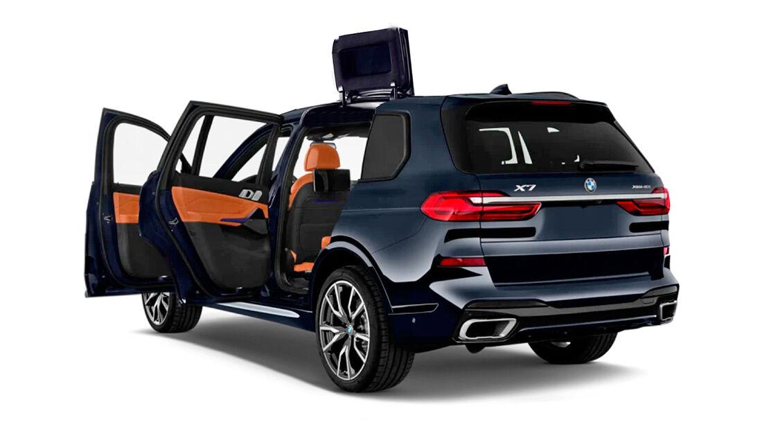 BMW X7 Tür-Patent