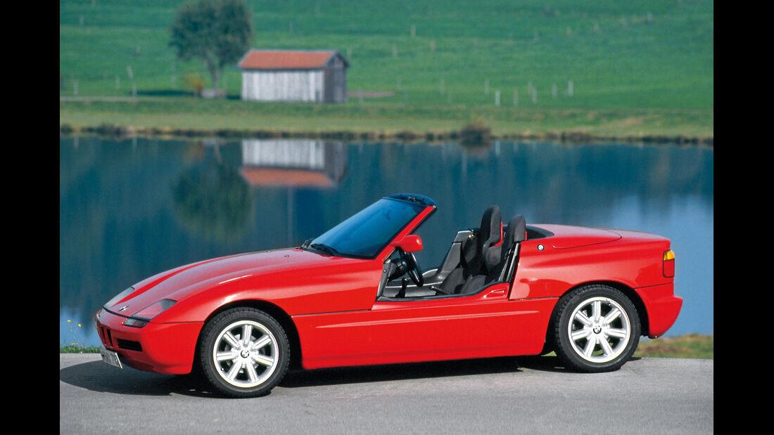 BMW Z1, Seitenansicht